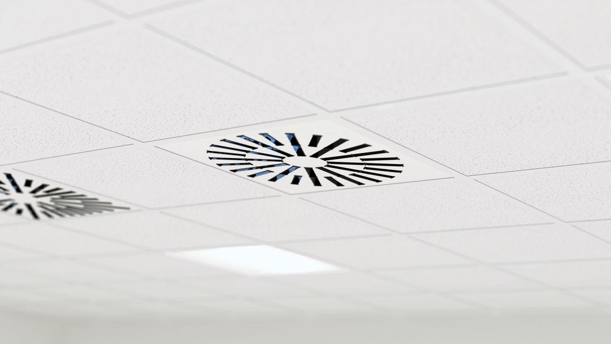 Diffuseur UV de plafond à haute induction AXO-S-UV