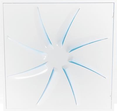 Diffuseur de plafond architectural OTO-UV