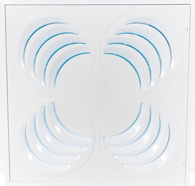 Diffuseur UV de plafond ajustable PLAY-UV en mode 4 voies