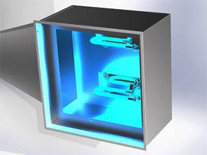 Désinfection de l'air par irradiation UVC