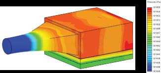 Pressuration de l'air dans le plénum des diffuseurs UV